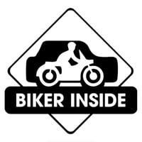 1515 8cm biker inside cool graphics car sticker funny car stickers decals vinyl decals