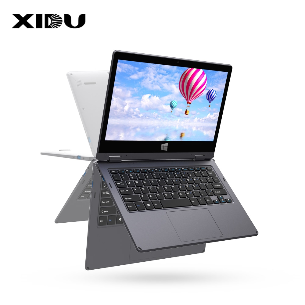 """Get XIDU Student Laptop 12.5 """" Touchscreen Notebook 10 Point Multi Touch Window10 8GB RAM 128GB ROM Suppot Expand to 1TB SSD Slim PC"""