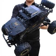 1:12 4WD RC voiture mise à jour version 2.4G radio télécommande voiture voiture jouet voiture 2020 haute vitesse camion tout-terrain camion enfants jouets