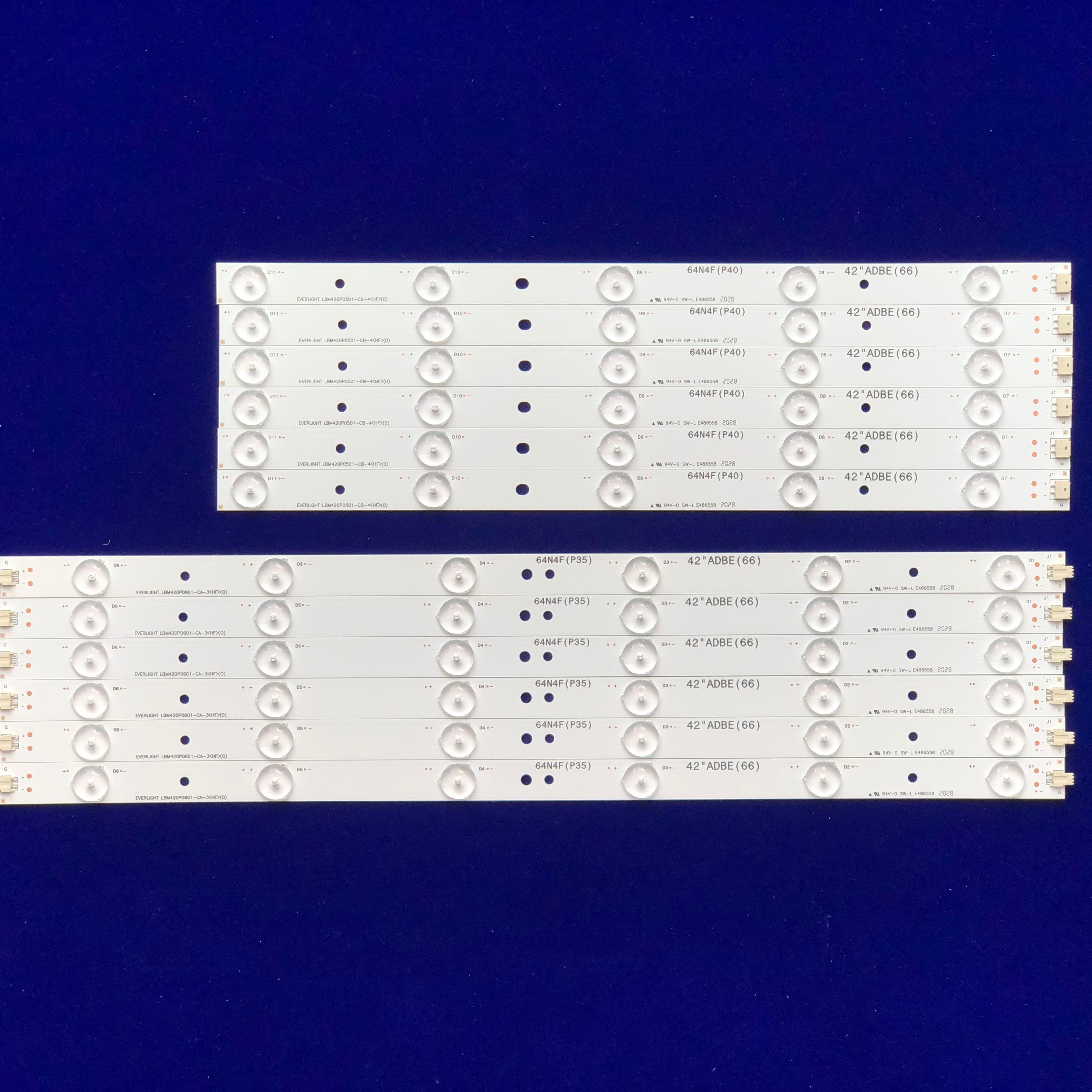 LED شريط إضاءة خلفي ل 42PFL3208H/12 42PFL3008D/78 42PFL3108K/12 42PFL3188H/12 42PFL3018T/6042PFL3018T/60 42PFL3208T/60