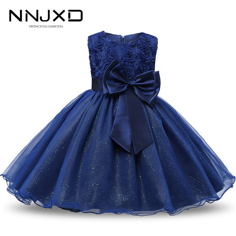 Princess Flower Girl Dress Summer Tutu Wedding Birthday Party Kids Dresses For Girls Children's Cost