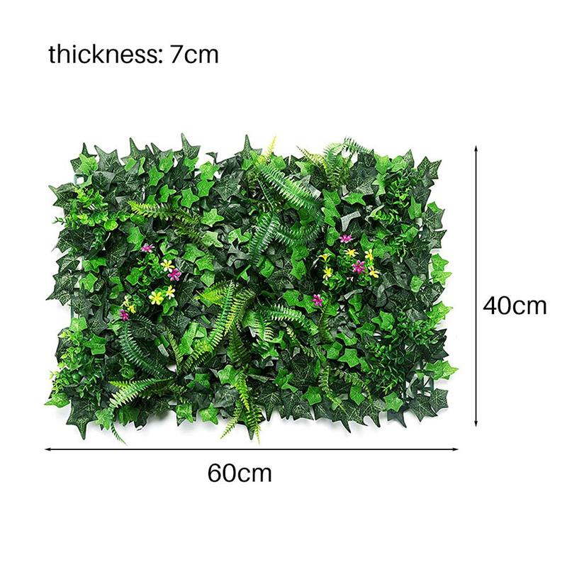 50PCS Artificial Green Plant Simulation Green Grass Home Wall Decoration Hotels Cafes Decoration Backdrops Plastic Lawn Plants