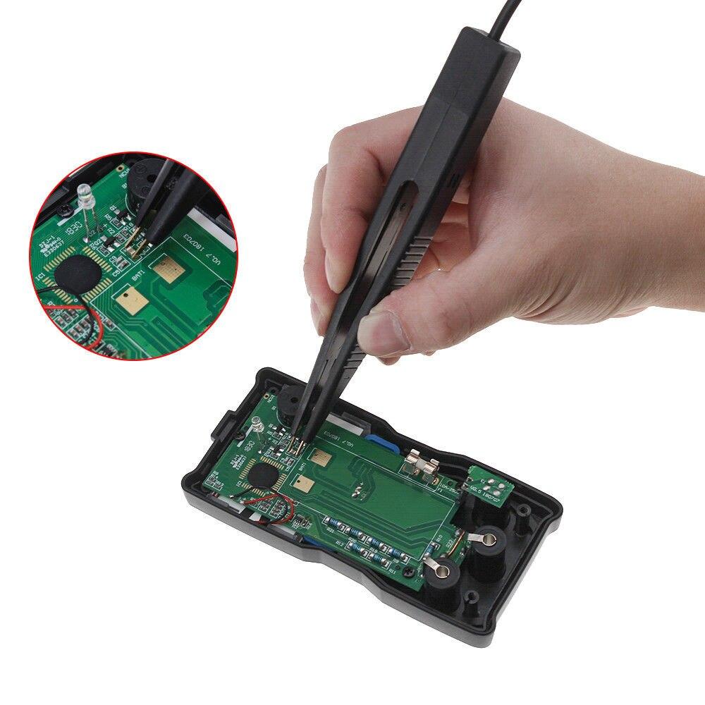 250 v smd 10mm indutor teste clipe sonda pinça f/resistor multímetro capacitor