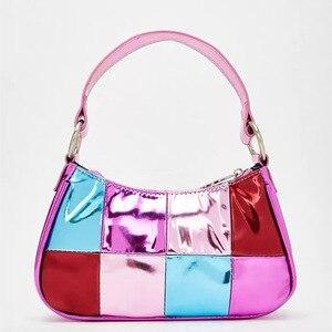 Female bag popular simple style PU patent leather fashion bag vintage Crossbody messenger shoulder women's handbag female