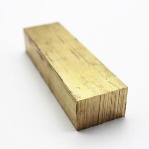 Brass flat bar,thickness 10mm/12mm,length 100mm brass square bar rod customized DIY accessories