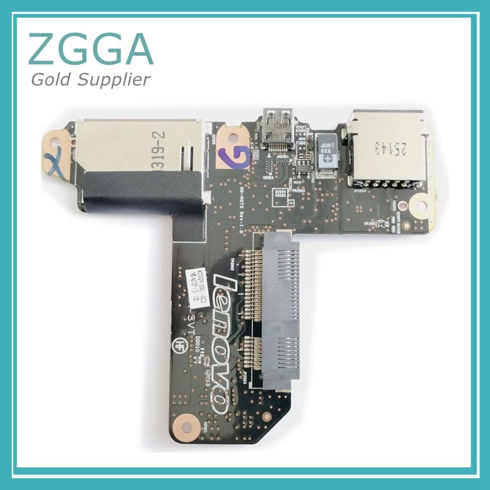 New Audio USB Board For Lenovo Yoga 2 pro 13 SSD Board HDMI Card USB Board Reader NS-A072 NS-A071 90004971 REV2.0 KONA-SVT