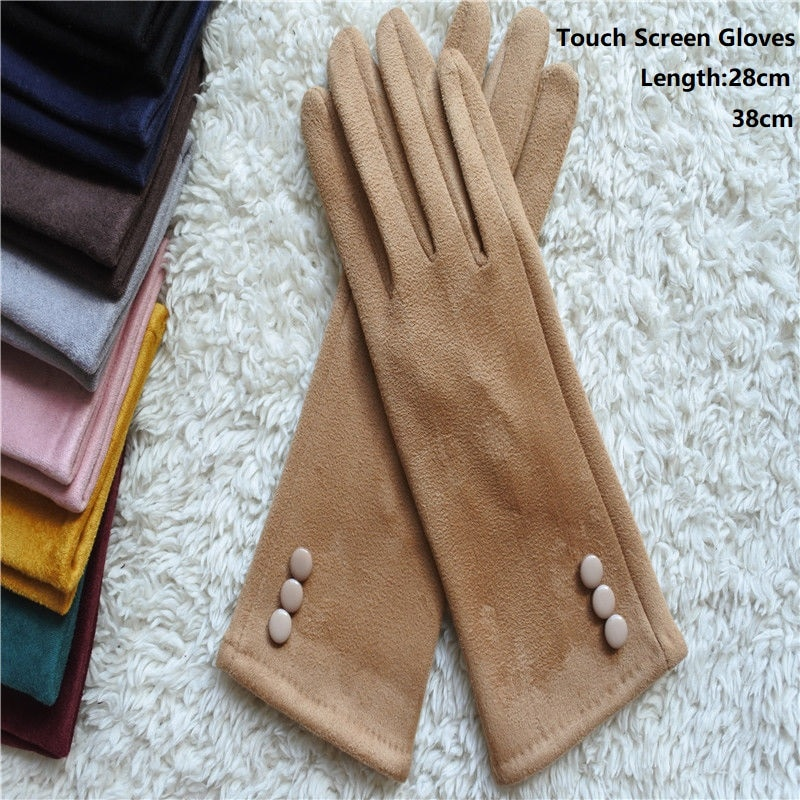 low temperature resistant gloves liquid nitrogen lng natural gas ice storage antifreeze thick warm cold gloves for adult Fashion Long Gloves Women Mobile Phone Touch Screen Cotton Suede Gloves Winter Thick & Warm Adult Gloves Women 28cm 38cm