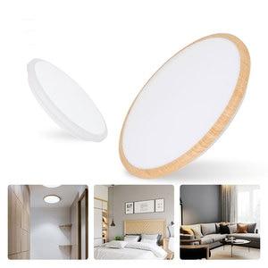 Nordic Bathroom Kitchen Ceiling Light LED Waterproof Three-color Ceiling Light 30W-80W Bedroom Living Room Aisle Light Ceiling
