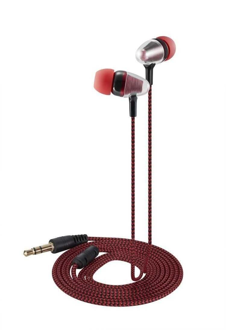 Wired Earphones Subwoofer Headphones 3.5mm for iPhone Smartphones Tablet Laptop