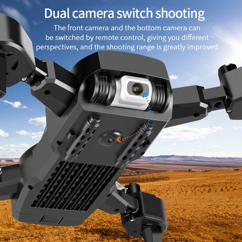 2021New S60 Drone 4k Profesional HD Wide Angle Camera 1080P WiFi Fpv Drone Dual Camera Height Keep Drones Camera Helicopter Toys 2