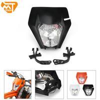 2017 Universal Motorcycle Headlight Head Lamp Light Headlamps For KTM EXC SX SXF XC XCF EXCF XCW SMR 125 150 250 350 450 530