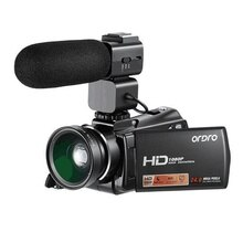 Ordro HDV-V7 Plus Full HD 1080P Digital Camera 3.0' Screen IR Night Vision Professional Camcorder Remote Control Video Cameras