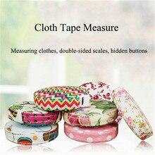 150cm/60 cali taśmy do tkanin środki przenośne chowany linijka miernicza taśma gospodarstwa domowego szycie odzieży linijki narzędzia pomiarowe