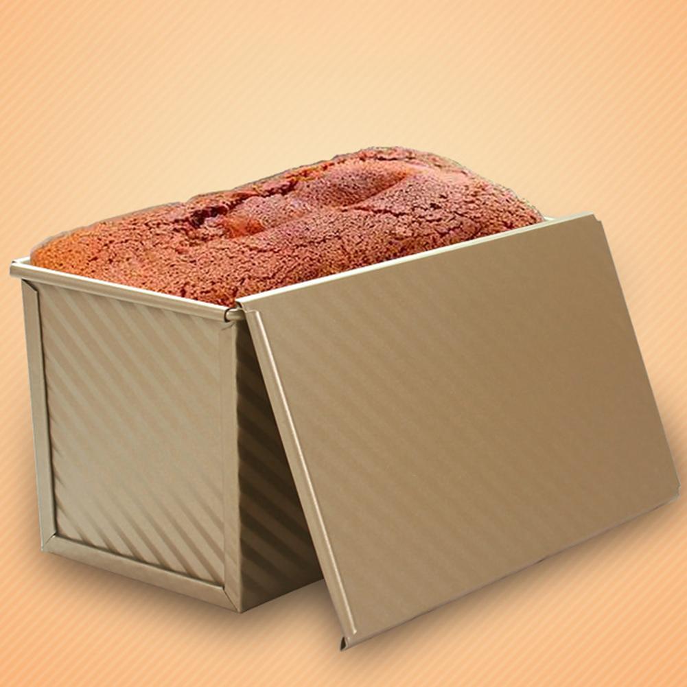 Антипригарное покрытие углерода Сталь торт для хлеба коробка для тостов формы кухонный инструмент для выпечки