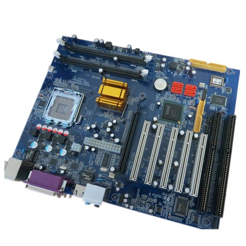 Eip KH-945 مع وحدة المعالجة المركزية: E7400/7500 + 2G RAM + Intel LGA775 ATX اللوحة الأم (تصل إلى 4GB)