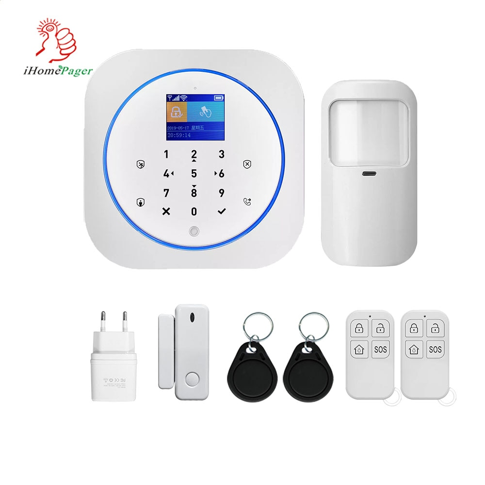 Home Security Alarm System For Theft Prevention Wireless TUYA Intelligent GSM/3G/4G+WIFI  security  alarm systems security home