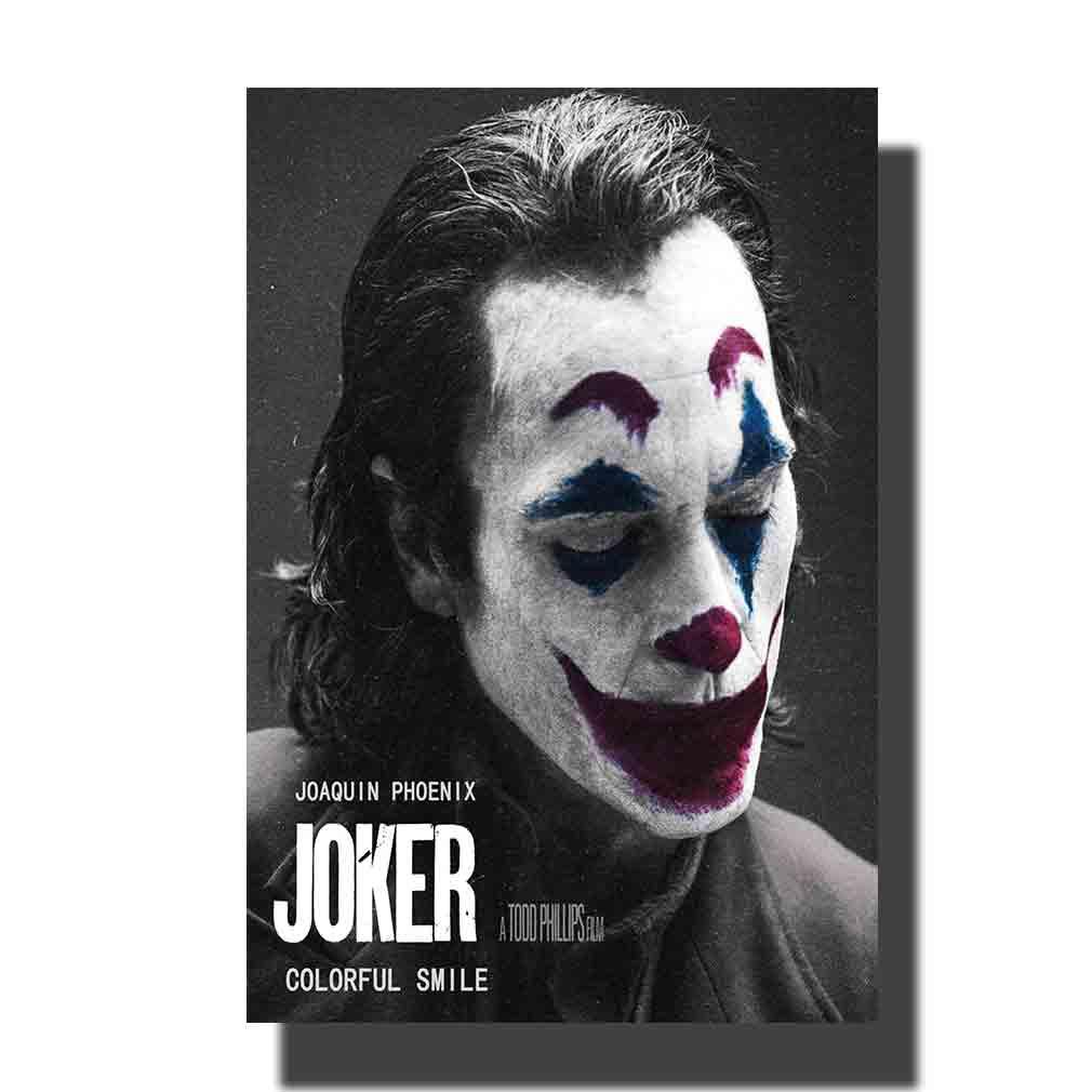 L883 Cartel de la película del joker 07 pintura del arte de la tela 14x21 24x36 impresión del cartel decoración de la pared de la habitación
