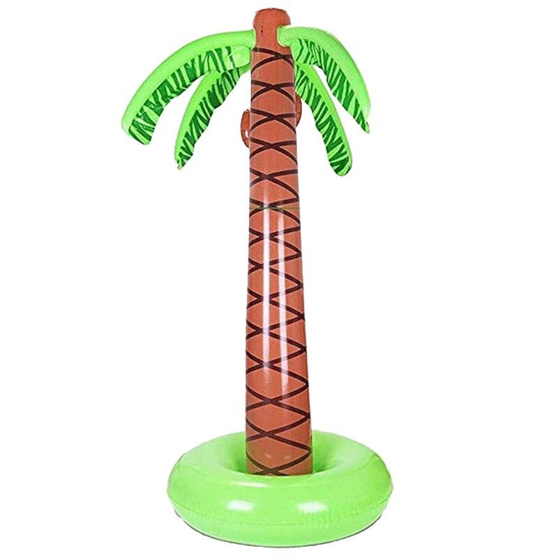 PULVERIZADOR DE AGUA, palmera inflable, de 63 pulgadas juguete, agua, juguete de aerosol, patio exterior, rociador de agua para niños, pulverizador de agua de coco