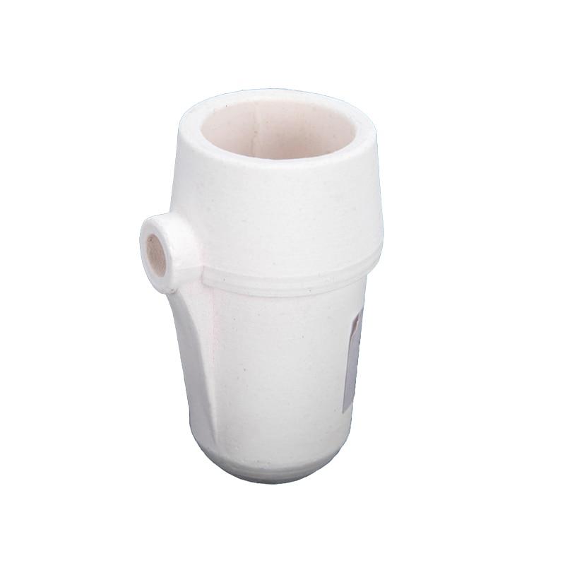 4 Pieces/lot Dental Lab Vertical Cup Shape Quartz Crucible for Centrifugal Casting Machine