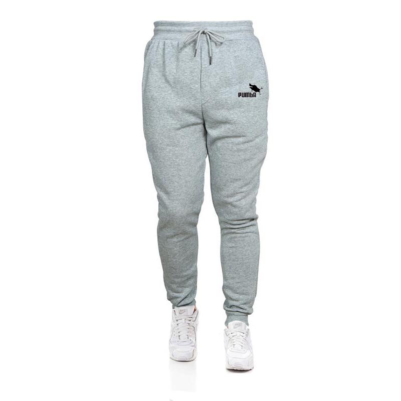 Джоггеры мужские хлопковые, тренировочные штаны, повседневные эластичные мешковатые брюки для фитнеса, мужские флисовые теплые зимние спо...