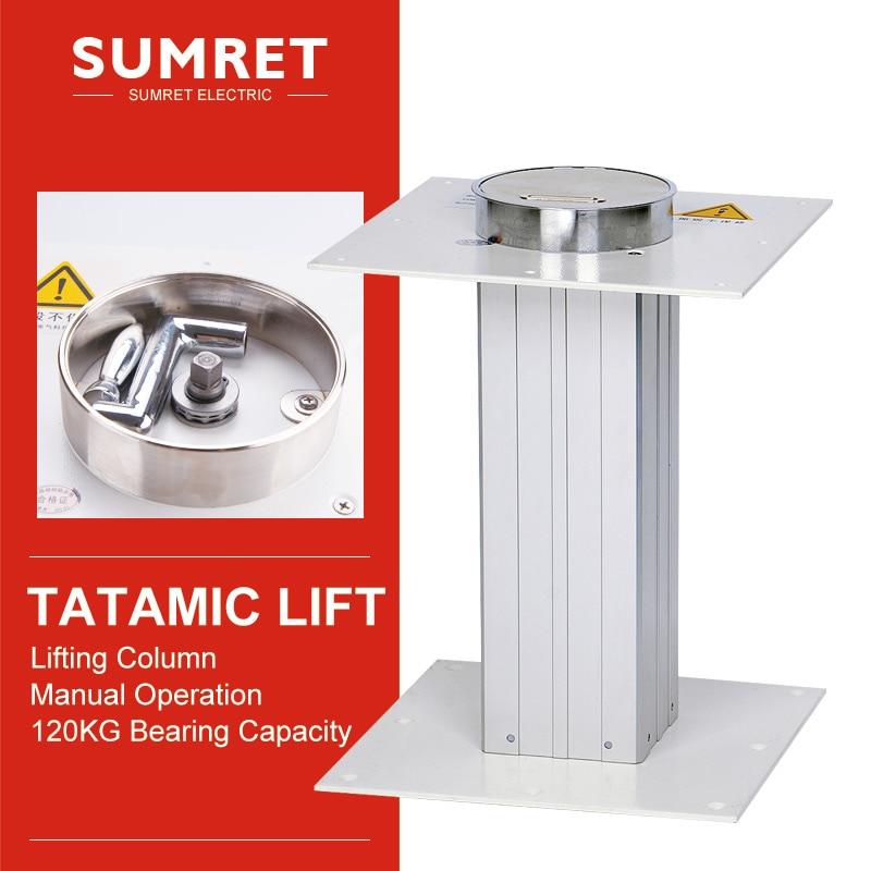 Tatami Manual lift table automatic lifting platform adjustment height 260-550 310-670 360-800 410-700 MM silent noiseless