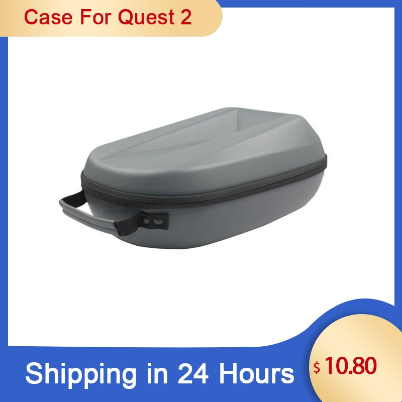 New Protable VR Accessories For Oculus Quest 2 VR Headset Travel Carrying Case EVA Storage Box For O