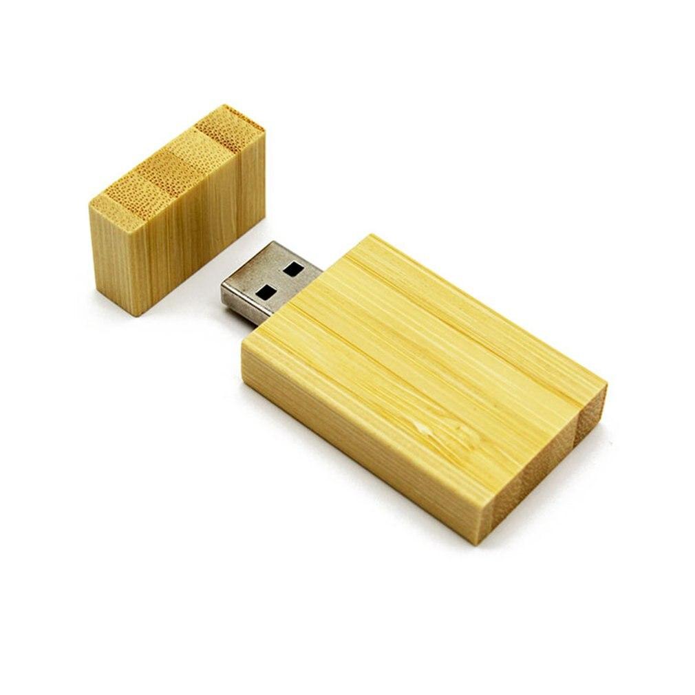 Натуральный Бамбук USB 2,0 флэш-накопители карта памяти Ручка большой палец U диск Флешка для ноутбуков ноутбук лучший свадебный подарок