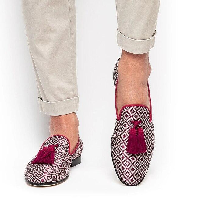 Sapatos masculinos de salto baixo sapatos de franja sapatos de vestido brogue sapatos primavera botas de tornozelo vintage clássico masculino casual yk400