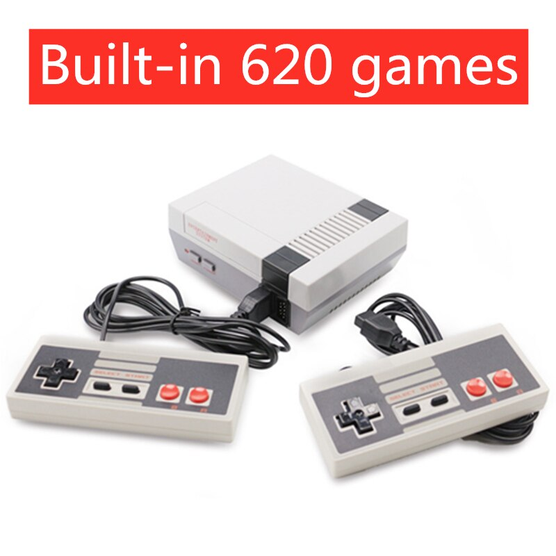 Mini reproductor de vídeo de TV SEGA, videojuego de 8 bits, consola integrada 620, juegos clásicos para niños, reproductor de juegos Retro nostálgico