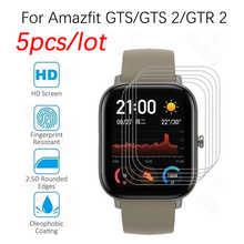 Для Xiaomi Huami Amazfit GTS 2 GTR 2 Смарт-часы защита экрана не стеклянная HD пленка для Amazfit GTS GTR 2e Bip мягкая ТПУ пленка