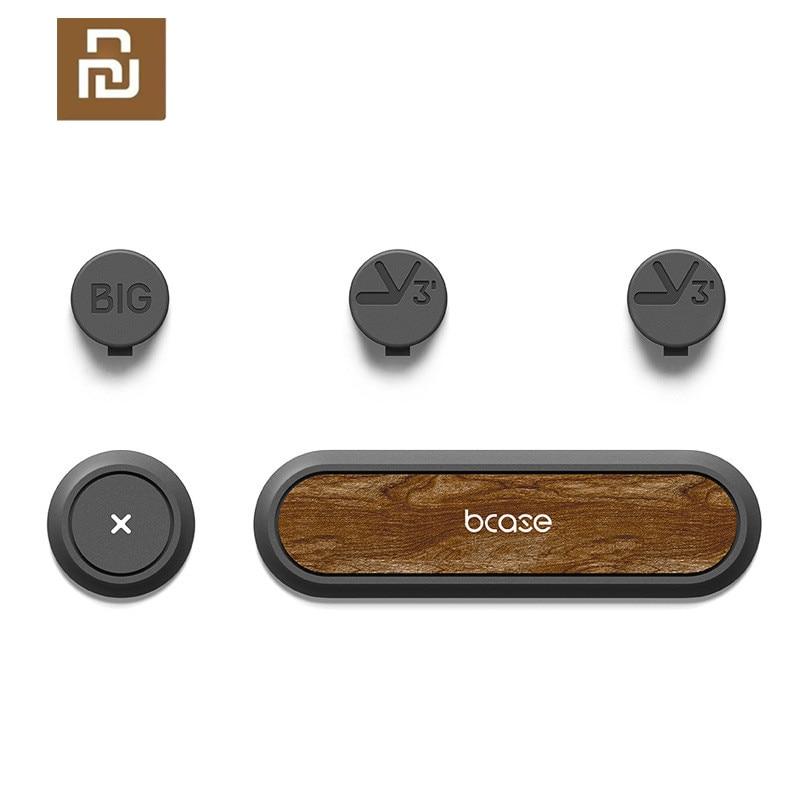 Nuevo Youpin BCASE Cable magnético organizador de escritorio soporte de gestión Cable Tup Clips para cordón para Youpin hogar inteligente