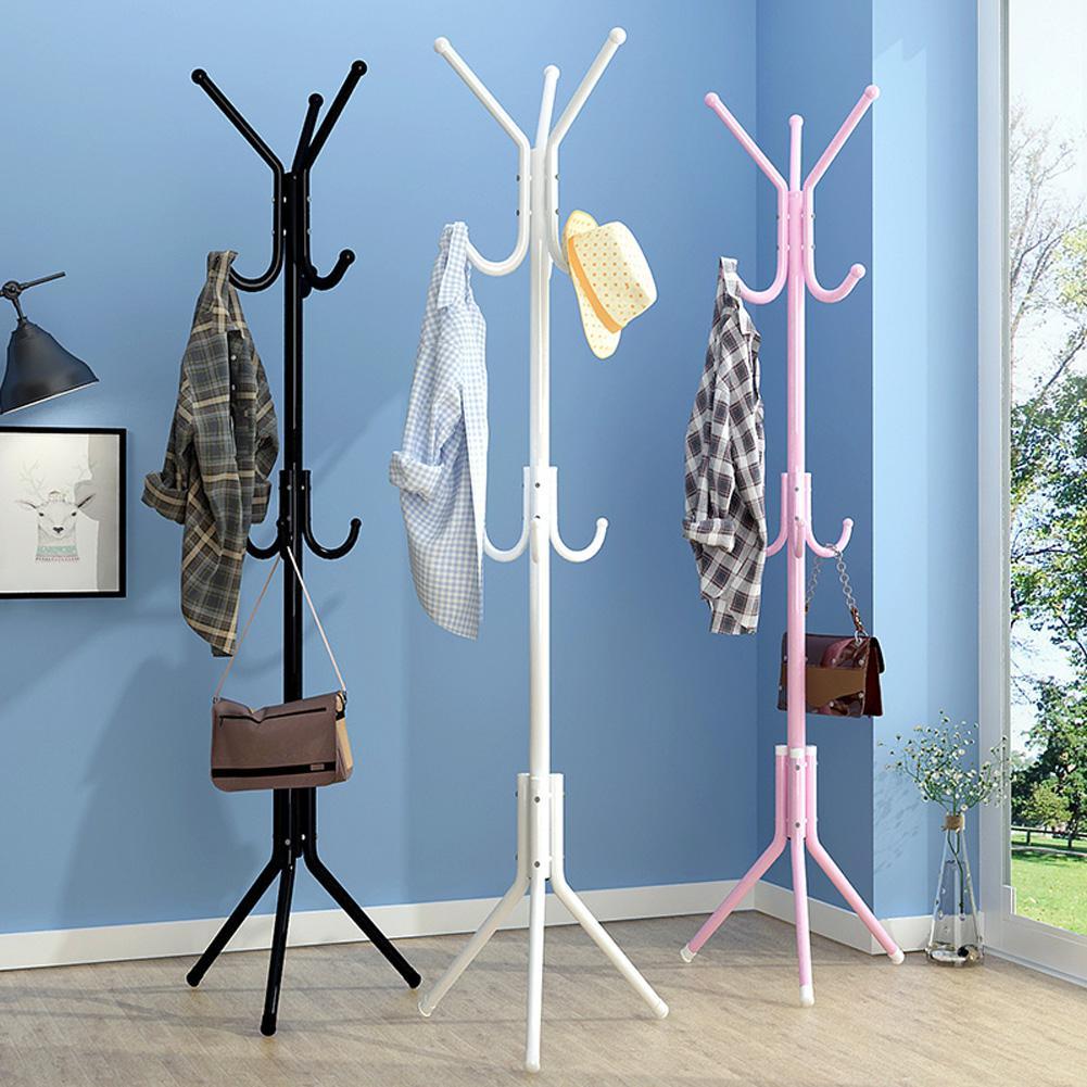 Металлическая вешалка для одежды, 6 крючков