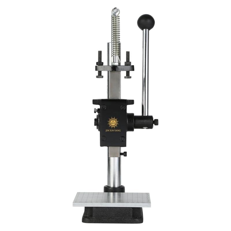 Штамповочная машина для кожи ручной пресс штамповочная машина ручной штамповочный станок тихий штамповочный Ручной пресс