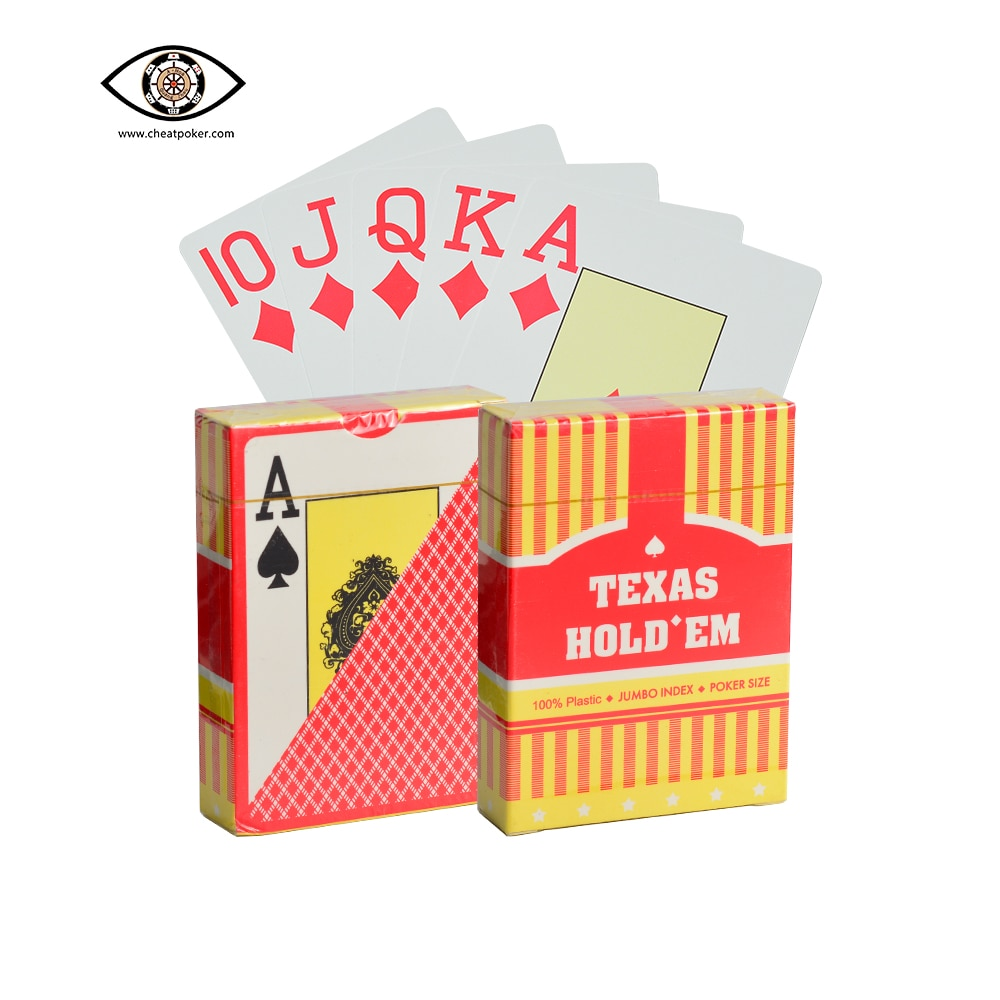 Фото - Barcode Marked Playing Cards for Poker Analyzer Texas Hold'em Plastic Poker Size Mark Card for Magic Tricks Anti Cheat Poker mark harlan winning at internet poker for dummies