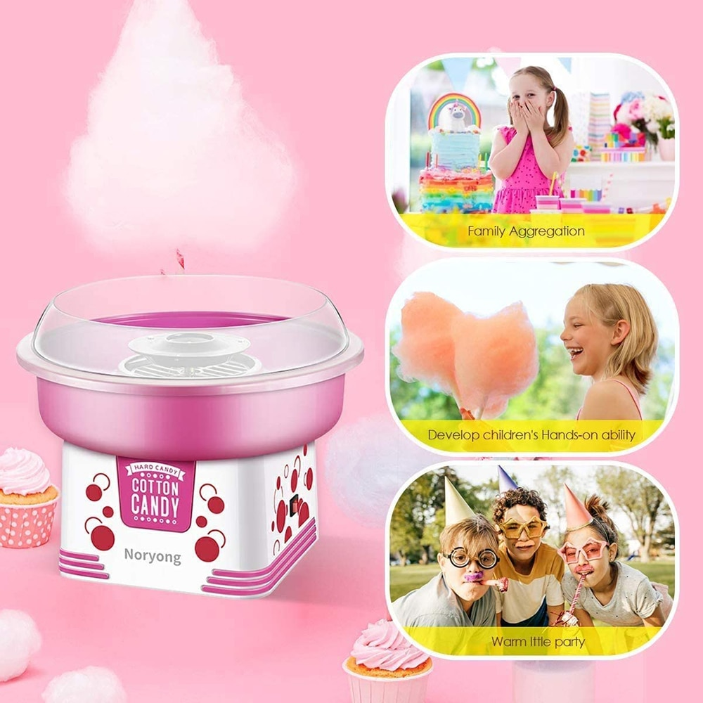 Home Appliances Children's Electric Candy Floss Machine Cotton Candy Maker For Family Party Birthday Party Cotton Candy Maker