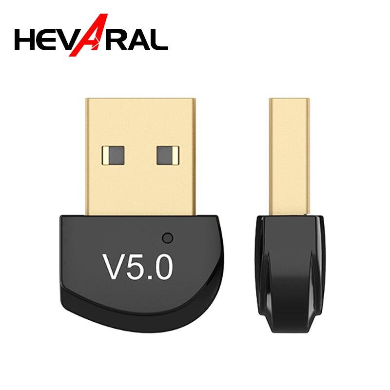 HEVARAL transmisor Bluetooth 5,0 Dongle inalámbrico para ordenador adaptador de ratón inalámbrico transmisión estable Mini adaptador Dongle