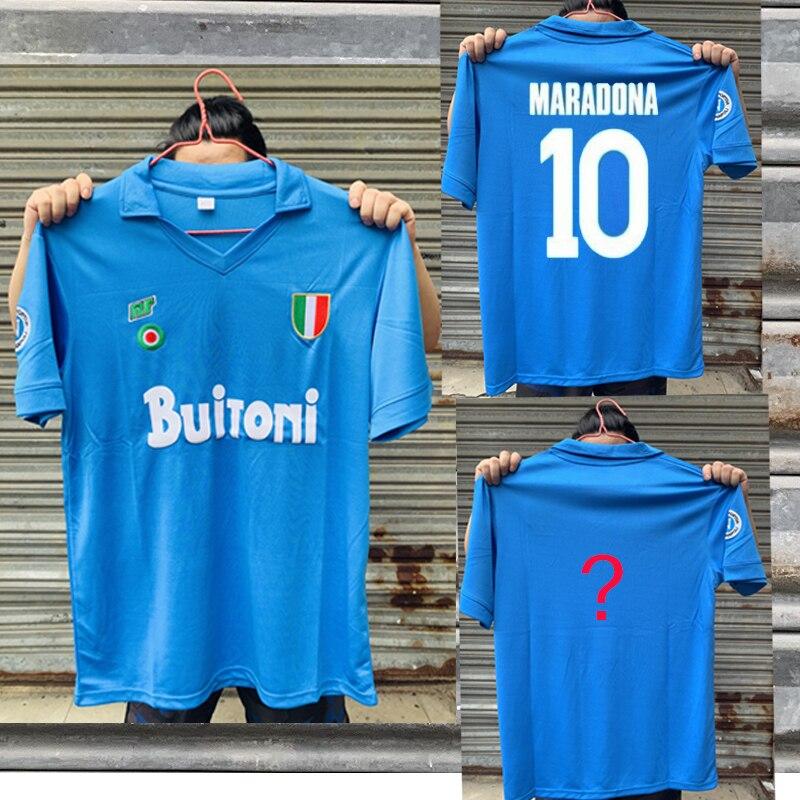 CAMISETAS Vintage de Italia naoli, Italia, NAPLES, Maradona, 1987, 1988