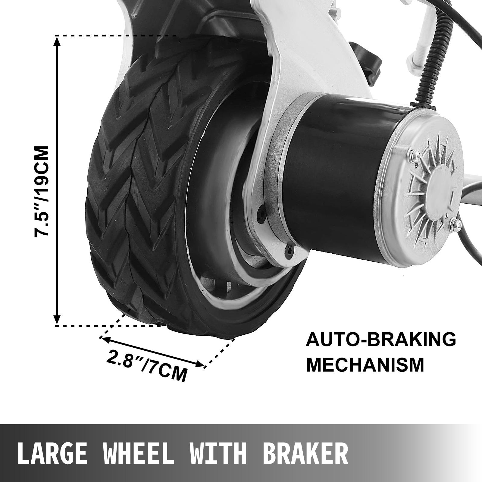 VEVOR 350W 12V Electric Motorised Jockey Wheel 2270KG Vehicle Load Caravan Boat Wheel Dolly Utility Trailer Pickup Power Mover enlarge