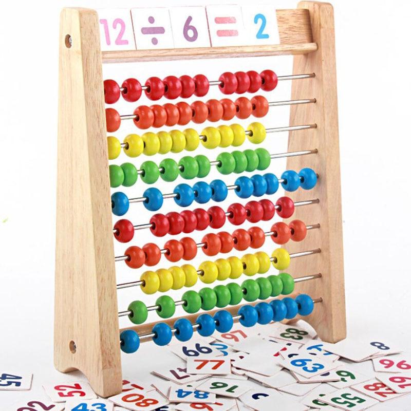ألعاب أطفال خشبية لعبة ألغاز على شكل معداد قوس قزح لعبة ألغاز حسابية ألعاب رياضية لعبة ألغاز تعليمية على شكل جديد