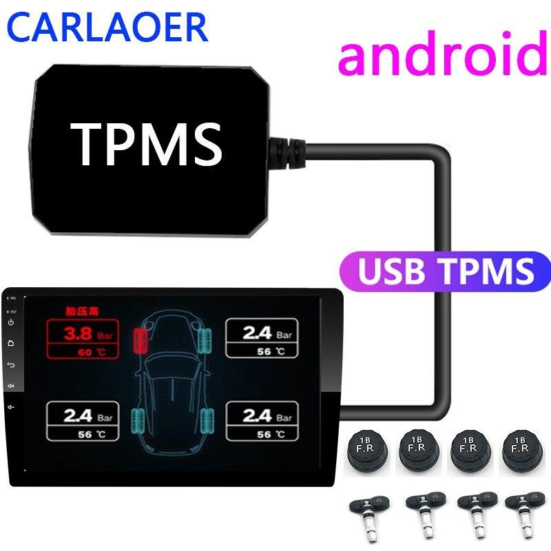 70mai Sistema De Control De Presión De Neumáticos Usb Tpms Sistema De Alarma Con Pantalla Autorradio Con Navegación Android Sensores Internos 5v 4 Sensores Alarma De Presión De Neumático Aliexpress