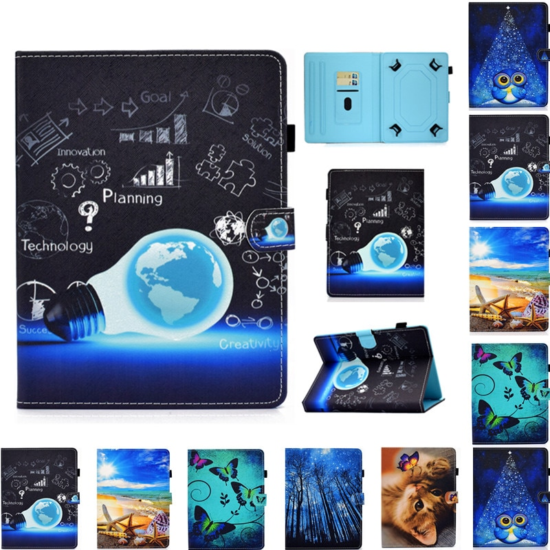Impresión Universal para DEXP Ursus E180 S180 S280 S380 P380 N280 N180 P180 P280 TS180 Z180 NS280 Z280 3G 4G funda para tableta de 8 pulgadas