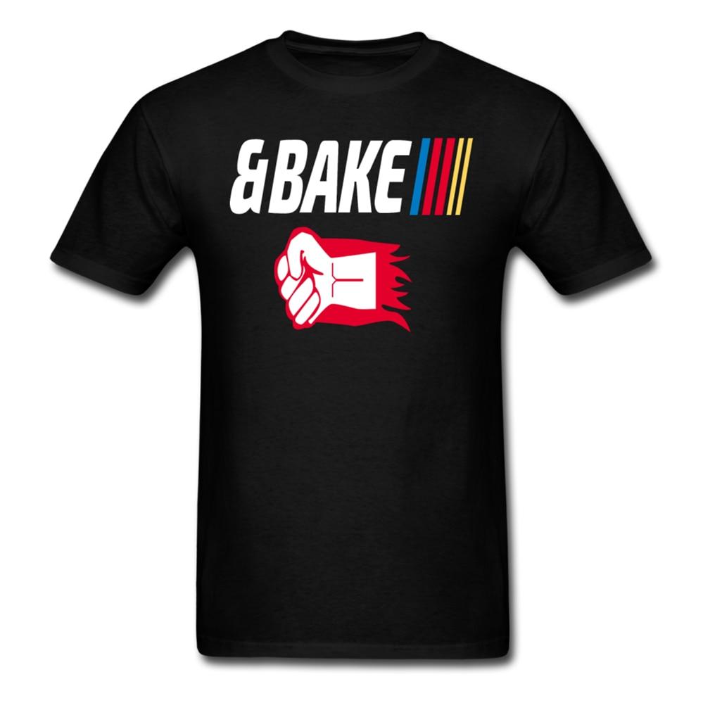 Camiseta de manga corta para parejas de Shake and Bake, para hornear, para hombres y mujeres