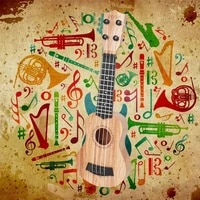 1pc wooden ukulele beginner portable travel guitar musical ukulele basic instrument for starter toy kids educational guitar y2b2