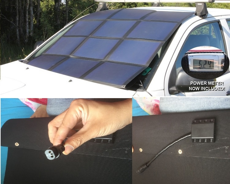 Panel solar flexible personalizado profesional, batería recargable de energía de 1000w para...