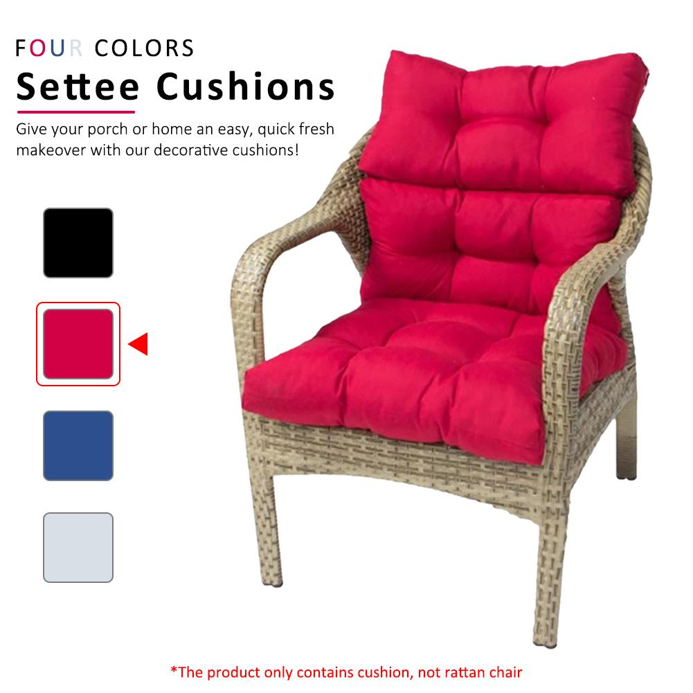 معلقة كرسي هزاز هزاز أرجوحة حديقة في الهواء الطلق لينة سلة وسادة مقعد غرفة نوم معلقة كرسي وسادة للظهر (لا كرسي)