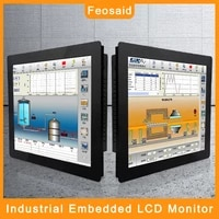 10 4 12 1 inch industrial monitor 15 17 resistance touch screen display tablet monitor vga input for pc