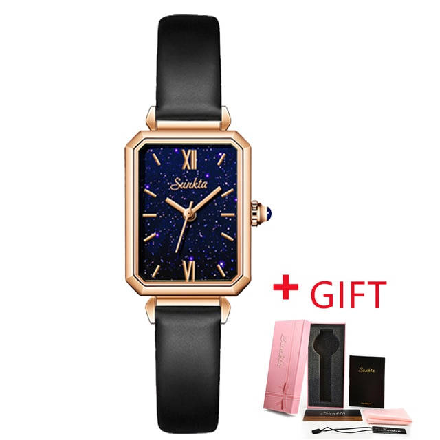 Women Watches NEW Square Fashion Montre Femme Luxury Ladies Ultra-thin Waterproof Bracelet Watches For Women Leather Strap Clock enlarge