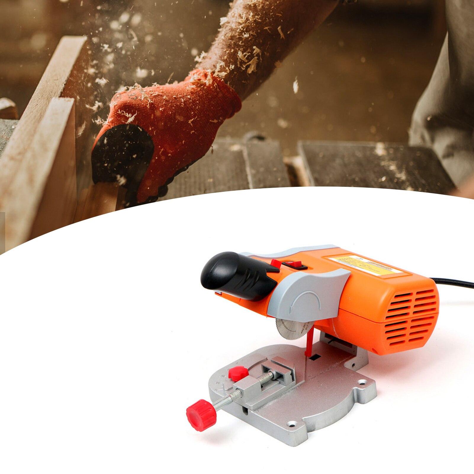 آلة قطع فولاذية صغيرة محمولة 90 وات ، 10000 دورة في الدقيقة ، 50 مللي متر ، منشار ميتري ، آلة قطع بلاستيكية ، خشب ، نحاس