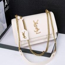 New Women Shoulder Bag  New Fashion PU Ladies Messenger Bag Metal Handle Ladies Hand Designer Bag