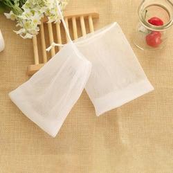 10 pçs soap saver malha net sacos de banho chuveiro espuma espuma bolhas net fabricante ferramenta lavagem do banheiro acessórios